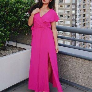 Pink Vici maxi dress
